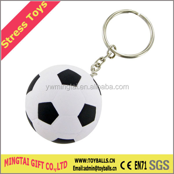 PU Ball, PU Orange Keychain