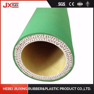 Wrapped surface flexible sulfuric acid resistant chemical hose