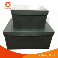 PP material plastic box/ plastic collapsible box