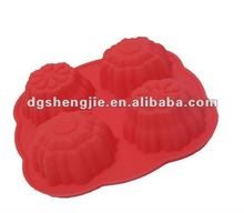 Multi-cup Mini Silicone Bundt Cupcake/Muffin Cases/Pan/Cups/Mould