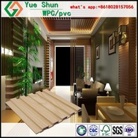 Ecological wood panel Waterproof anti-slip WPC wall panel, wood plastic composite decorative board