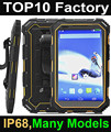 Cheapest 7 inch NFC rugged tablet 16GROM 4G Wifi bluetooth GPS IP68 tablet pc industrial computer ready stock