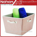 Naham Slubbed Fabric cloth storage cubes boxes