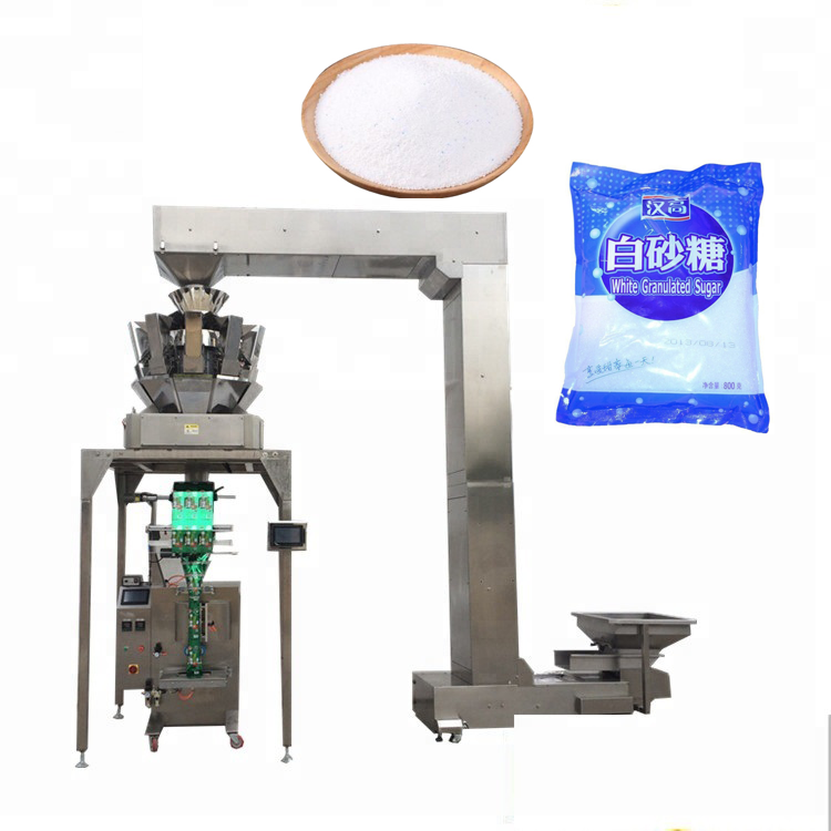Pillow seal YB-<strong>Z10</strong> Automatic 10 head weigher coffee beans potato chips packaging silica gel packing machine