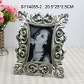 Hand made silver color resin picture frames for sale