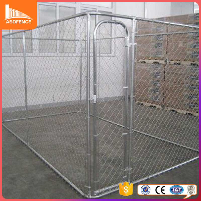 2016 new unique iron fence cheap chain link dog kennel