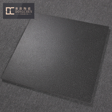 Unpolished Black Granite Ceramic Tile Thickness 20 mm Matte Black Antique Outdoor Terrace Tile For Ground Floor