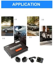 Car Seamless 360 Degree CCTV Panoramic Birdview Camera System Rear Front Back Side View 32GB DVR