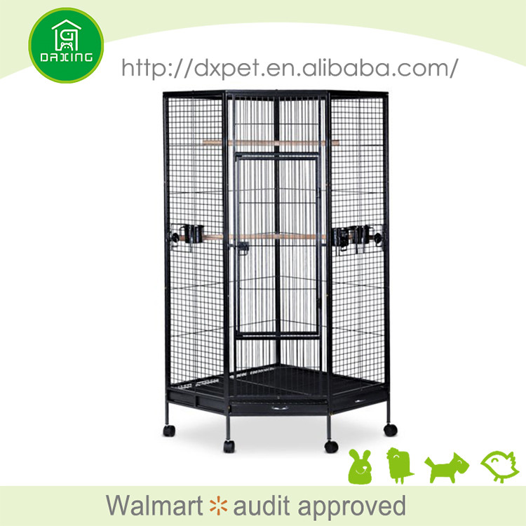 DXPC007 Large size eco-friendly new design big wire bird cage