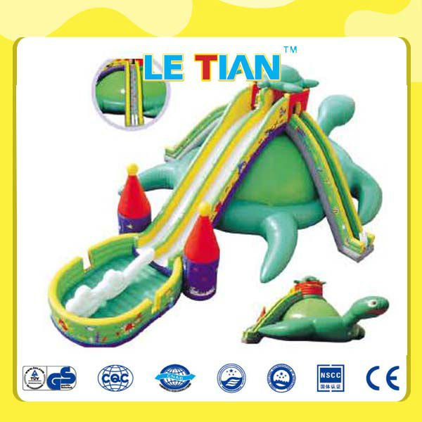 2013 giant inflatable water slide LT-2133D