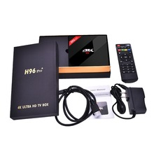 H96 Pro Plus 3GB RAM 16GB ROM TV Box Amlogic S912 Octa-core CPU Android 7.1 Dual band WIFI Bluetooth 4.1 Set Top Box