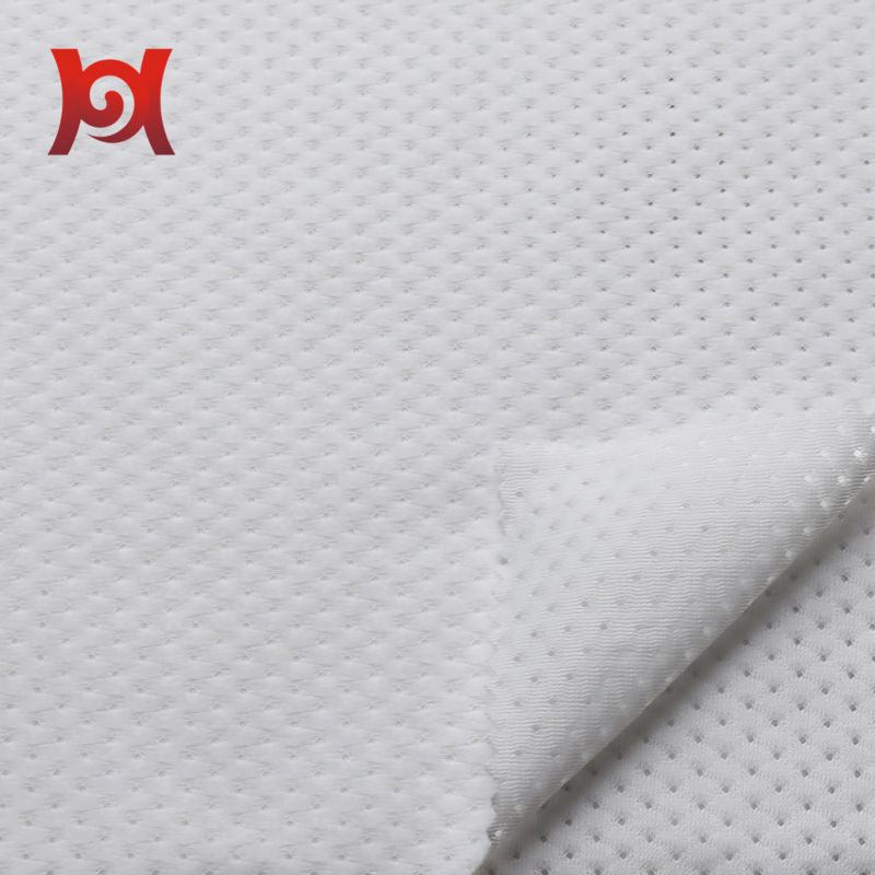 polyester brushed mesh fabric for garment