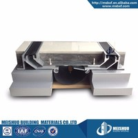 Dual seal design rubber anti seismic building expansion joint covers