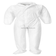 50 G SMS Disposable Coveralls With Hood