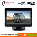 4.3 Inch Rear View Mirror Car Monitor with bluetooth mp5 player