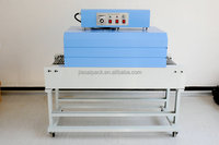 foot impulse sealer add date printing BSD3015heat tunnel shrink wrapping machine shrink packing machine