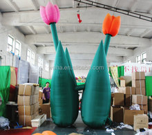 2015 inflatable tulip/giant inflatable flower decoration