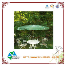 32'' Advertising promotional beach umbrella with clam outdoor strong windproof umbrella