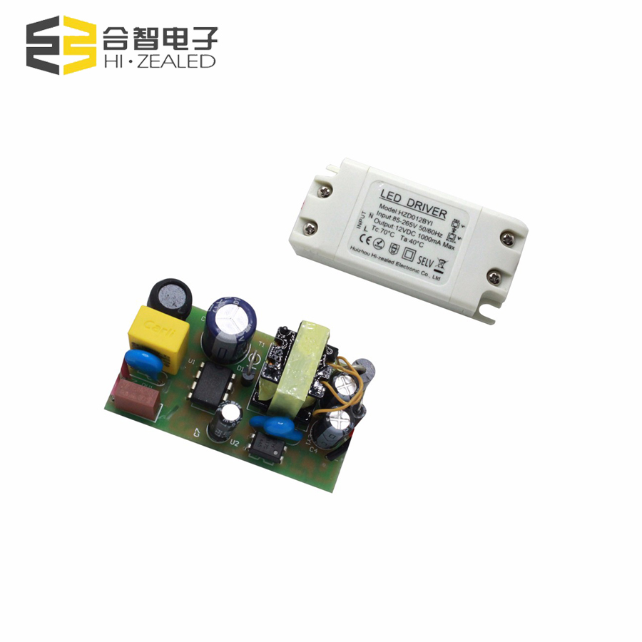 500ma 12w 24v driver constant voltage 12v 1a power supply led module for led strip light