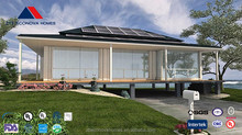 Economic prefabricated house /villa with solar system