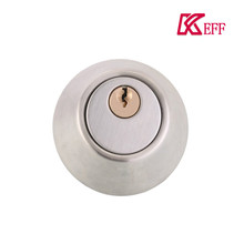 Zinc alloy cylinder deadbolt high security lock for hotel room door