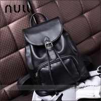 Grain Sheep leather custom women pattern leather backpack