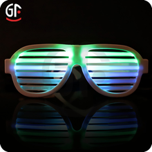 New Design Novelties Flashing LED Sound Activated Party Glasses With Eyes