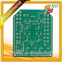 alpine audio gsm gprs gps pcb module 2 layers lpi green solder mask pcb