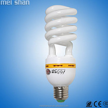 China 13w half spiral energy saving bulb with 1year warranty