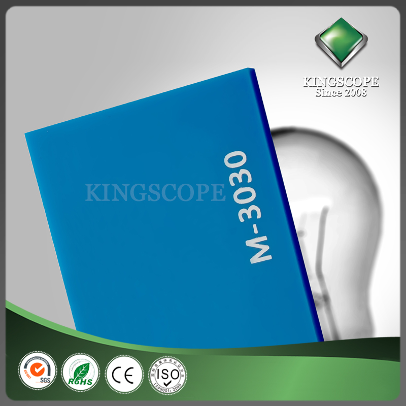 KINGSCOPE 100% Virgin material 1mm navy blue pmma sheet price