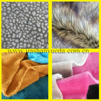 Synthetic fur, Synthetic fur fabric
