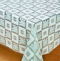 non slip embossed lace pattern vinyl lace table cloth