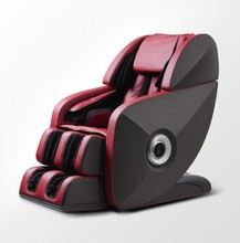 2014 Best Full Body Leather Space Capsule 3D Massage Chair