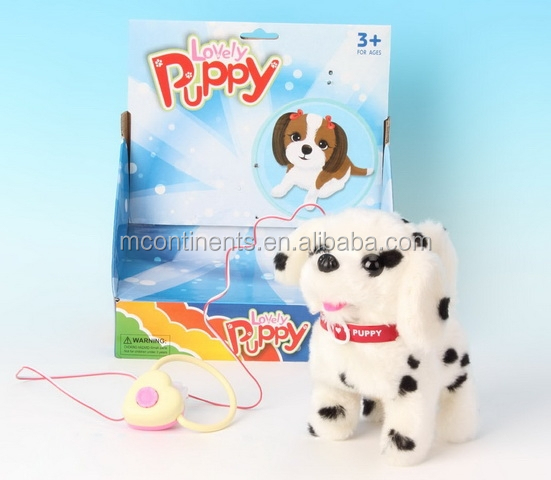 Electric wire control the puppy Children's electric plush toys