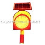 Yellow Solar LED Light