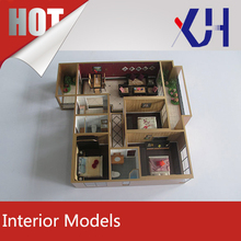2016 Hot selling architectural real estate scale model making interior models