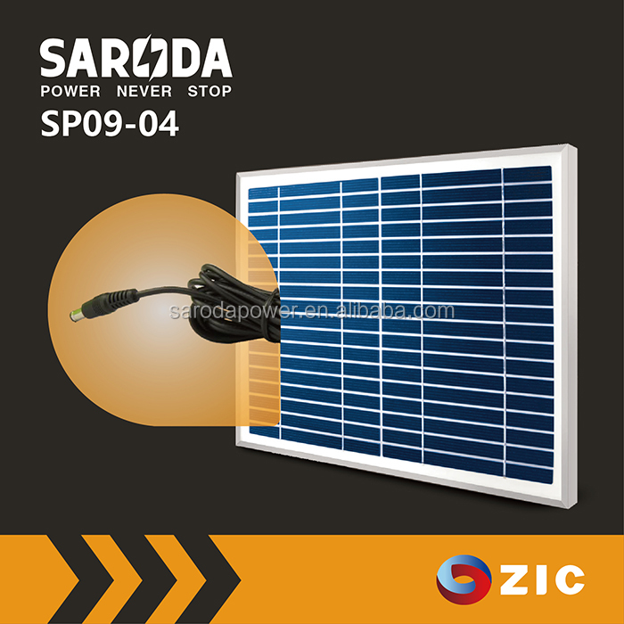 Factory direct wholesale low price 18V solar panel with polycrystalline silicon solar cell