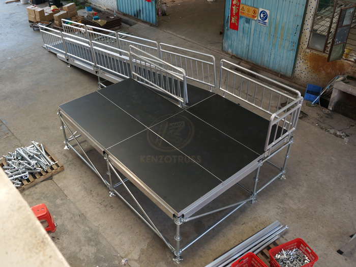 Wholesale layer stage platform steel stage platform