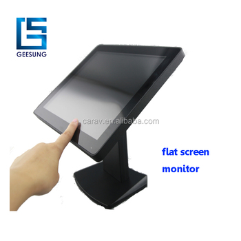 12inch desktop computer lcd monitor with VGA input ture flat screen monitor