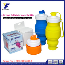 Wholesale 520ml Collapsible Camping Drinking Bottle For Outdoor Activities