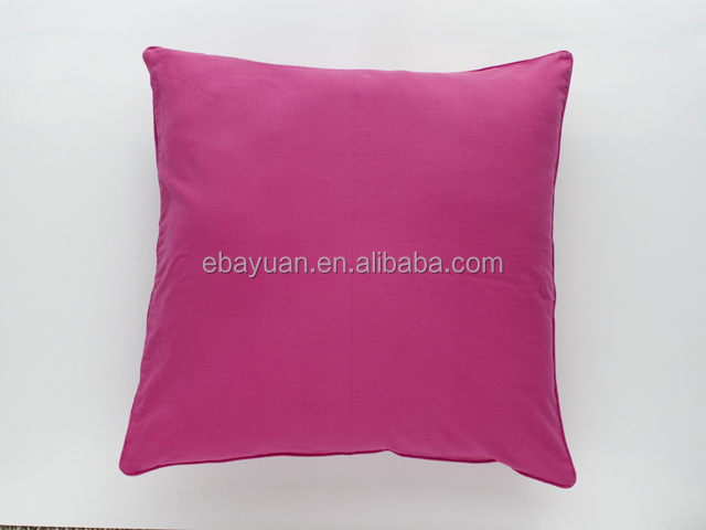 2015 newest product solid color nice throw pillow