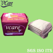 Thick Breathable Sanitary Napkin Pad With Pure Core