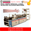 Disposable Plastic Long Sleeve Glove Making Machine