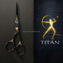 Titan super cut barber scissors colourful hairdressing scissors training head for hairdressers