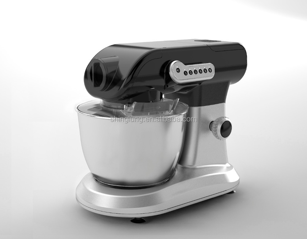 1200W Multi Function Table Top Stand Mixer with 5.5L stainless steel bowl