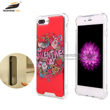 [Somostel] Wholesale Washable Magical Nano Sticky Selfie Cell Phone Anti Gravity Case For iPhone 6 6s Plus