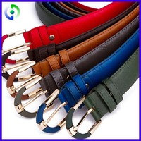2016 High quality fashion design wide leather belt for sale