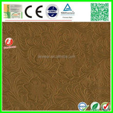 factory stock high quality upholstery fabric synthetic leather