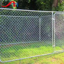 Factory Price chain link dog kennel/iron dog kennel outdoor/for Run
