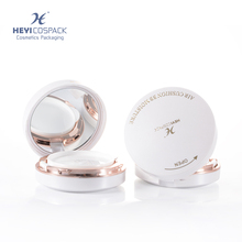 High-end design empty air cushion compact pressed powder case with mirror